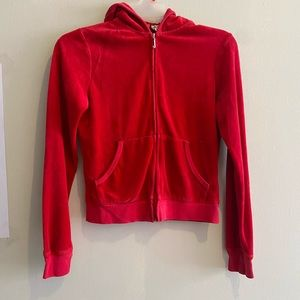Red Juicy Couture Hoody